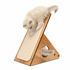 Vesper V-Playstation in Walnut - Cat Furniture, Activity Centre, Scratcher
