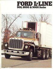 1979 Ford L-Line 900 8000 & 9000 Series Truck Sales Brochure