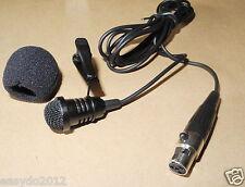 NEW Lavalier Lapel Microphone Mic For Shure KCX BLX GLX PG SLX ULX PGX Wireless