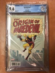 Daredevil # 612 CGC 9.6 Everett Remastered 1:200 Variant Cover Marvel 🔥🔥🔥
