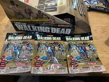 WALKING DEAD SERIES 1 BLIND BAG WALKERS BUNDLE X 3 mcfarlane BUILDING SET