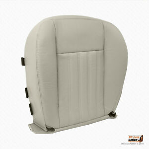 2003 2004 Lincoln Aviator 2WD - DRIVER Bottom Synthetic Leather Seat Cover Tan
