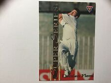 Damien Fleming Aust Cricket Futera SS22 Misprint Insert Card *Extremely Rare*