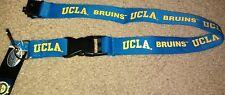 NCAA UCLA Bruins Blue Breakaway Lanyard Keychain NWT Free Shipping
