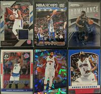 Lot of (6) Andre Drummond, Including Prizm Jersey, Prizm/Optic & Panini Rookie