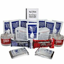 S.O.S Food Rations /Water Pouches /Candles - Foods & Essentials Disaster Kit