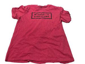 MEN Reebok CrossFit  XL RED GYM SHIRT
