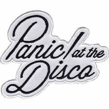PANIC AT THE DISCO - EMBROIDERED PATCH - BRAND NEW - MUSIC BAND 4413