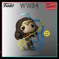 Funko Pop Vinyl DC Wonder Woman #361 WW84 - NYCC 2020 Shared Sticker PRE ORDER