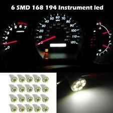 20x White Gauge Cluster Instrument Speedometer T10 Wedge 12V LED Dash Light Bulb