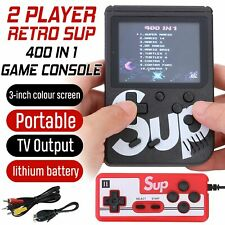 SUP Retro Mini Handheld Video Game Console Gameboy Built-in 400 Classic Games US