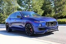 For Maserati SUV levante Carbon Fiber Set Side Skirt Front&Rear Bumper Lip Trim