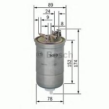 ENGINE FUEL FILTER OE QUALITY REPLACEMENT BOSCH 0450906322