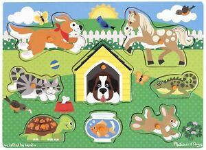 Melissa & Doug - Pets Peg Puzzle
