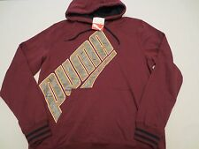 PUMA PULLOVER GRAPHIC HOODIE SWEAT SHIRT ZINFADEL Mens Size LARGE L NWT