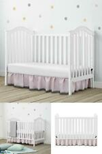 Baby Relax Adelyn 2-in-1 Convertible Baby Crib Infant Daybed Adjustable Position