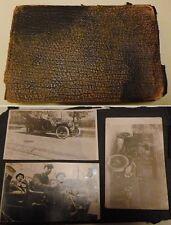 1909 Seattle WA Album w Photos, Luxury Cars, Neptune Baths, Canoe Building, etc.