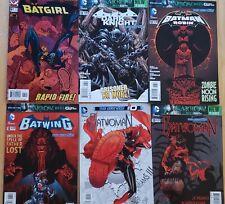 Bat Books - Six (6) Book Lot - Batman, Batgirl, Batwoman, Batwing, Robin