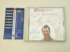 THE DAVE BRUBECK QUARTET - DAVE DIGS DISNEY - 1st PRESS JAPAN 1989 W/OBI NM/EX
