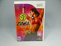Zumba Fitness Join the Party (Nintendo Wii, 2010) w/ Case NO BELT !
