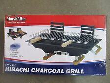 Marsh Allen Steel Hibachi Charcoal Grill # 30002 New