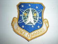 USAF SPACE COMMAND PATCH - COLOR