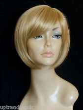 heat resistant classic bob lady wig ladies womens wigs golden blonde 27# S-20