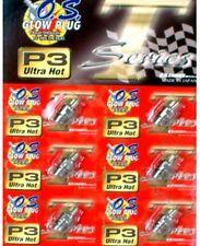 O.S. ENGINE Glow Plug P3  ULTRA HOT OFF-ROAD ( 6pcs )
