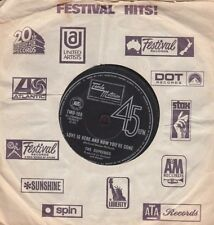"""The Supremes - Love Is Here And Now You're Gone / There's No Stopping - 7"""" 45rpm"""