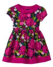 Nwt Gymboree Plum Pony Flower Corduroy Dress Floral Girls 5t