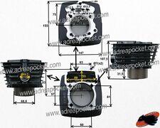 Cylindre Moteur Zongshen 200cc / SHINERAY 200STII et STIIE-B