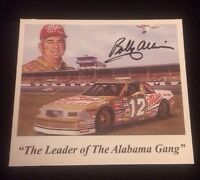 BOBBY ALLISON Autographed Signed AUTO INDEX CARD 3X5 NASCAR