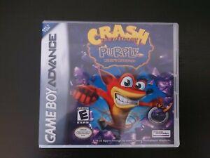 Nintendo Gameboy Advance Crash Bandicoot Fusion Genuine Cart