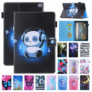 For Amazon Fire HD 10 11th Gen 2021 Smart Leather Case Stand Cover Wake Sleep