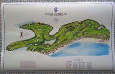 "Mid Ocean Club - Vintage Golf Course Maps print (30"" x 19"")"