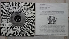 """The Leopards – Psychedelic Boy   7"""" Single  + insert  Voxx Records – 45-1010"""