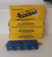 Marklin 7069 Blue Distribution Box In Original Box Pristine! (4 Pieces)