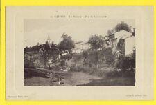 CPA 81 - CASTRES (Tarn) Le SIDOBRE - Vue de LACROUZETTE Cliché G. Aillaud à ALBI