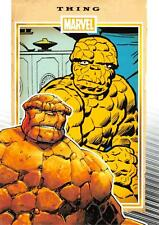 THING / Marvel 75th Anniversary (2014) BASE Trading Card #81