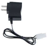 Dc 7.2v rechargeable rc battery pack wall charger adapter for rc carX