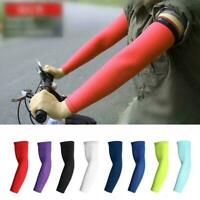 Cycling Arm Sleeves UV Protection Arm Warmers Sports Arm Covers Men M//L//XL M3F8