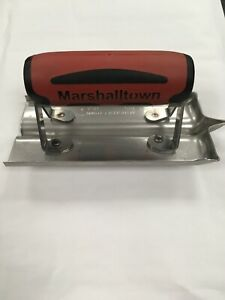 Marshalltown M180D Cement Edger Groover Trowel Stainless Steel 6x3in NEW