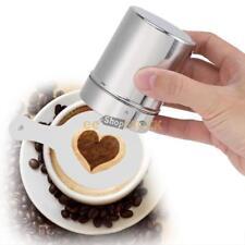 Pochoirs modele impression du motif moule sur café lait gâteau