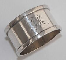 Antiques Sterling Silver Napkin Rings