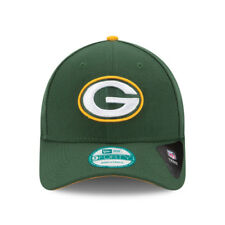 NEW ERA MENS 9FORTY BASEBALL CAP.NFL THE LEAGUE GREEN BAY PACKERS GREEN HAT 8W2