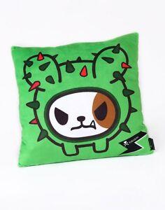 "NEW Officially Licensed Tokidoki Cactus Dog Cushion Pillow 13"" TK17091 US Seller"