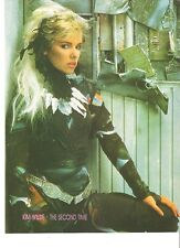 """KIM WILDE the second time magazine PHOTO / Pin UP/Poster 11x8"""""""