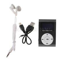 32GB Mini Mp3 Player mit LCD Display + Kopfhörer + Ladekabel Zubehörpaket