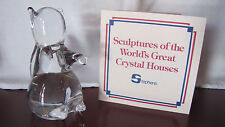 Stephen's Portugal Squirrel Sculptures of World's Great Crystal Houses COA MINT