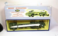 Dinky 666 Corporal Missile Erecting Vehicle In Its Original Box - Excellent